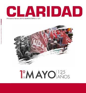 125 AÑOS DEL PRIMERO DE MAYO: Especial Revista Claridad